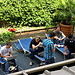 Chilling between sessions at phpDay 2011